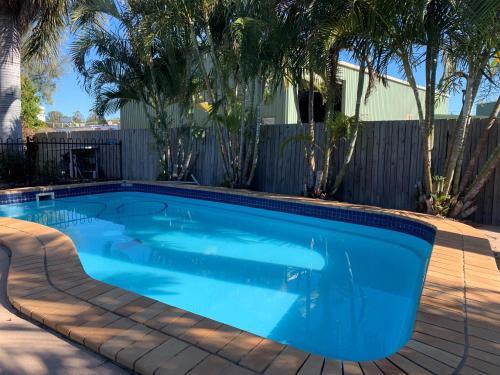 The swimming pool at or near Biloela Palms Motor Inn