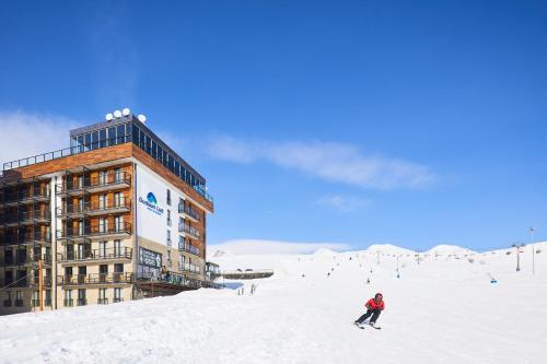 Gudauri Hotel Loft during the winter