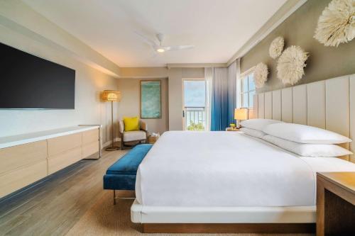 Televizors / izklaižu centrs naktsmītnē Hyatt Regency Aruba Resort & Casino