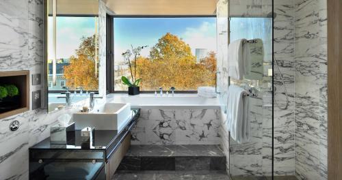 A bathroom at The Hari London