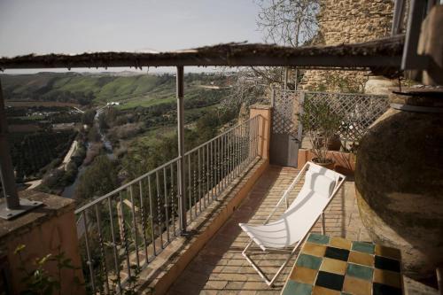 A balcony or terrace at La Casa Grande