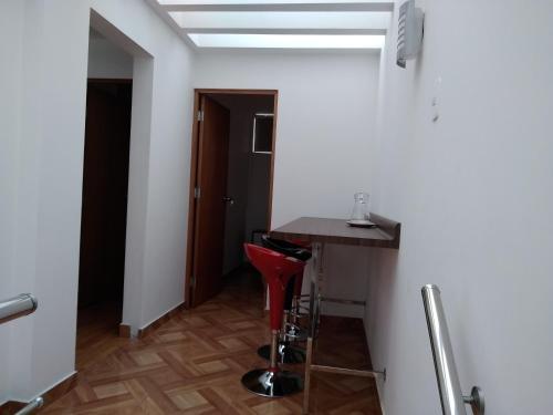 A bathroom at Departamento en el centro de San Borja (Rubens)