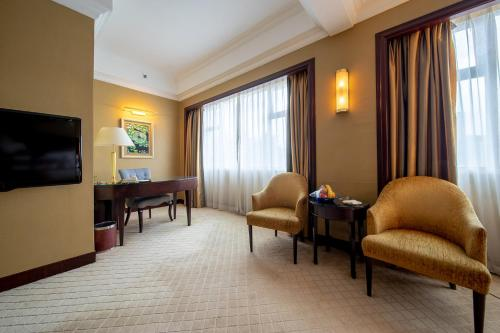 منطقة جلوس في فندق غراند العالمي