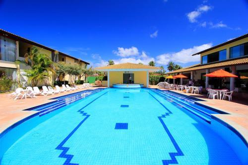 The swimming pool at or near Transoceanico Praia Hotel