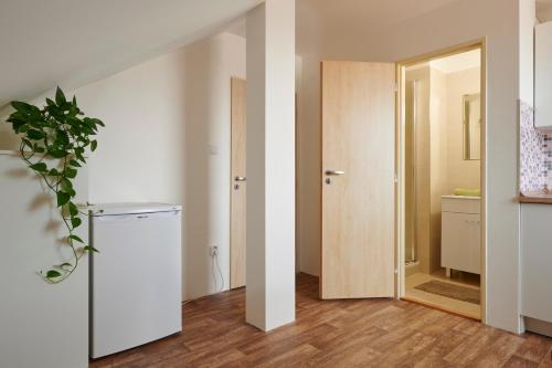 Kuchyň nebo kuchyňský kout v ubytování Apartment Ostrava