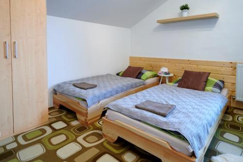 Postel nebo postele na pokoji v ubytování Apartment Ostrava