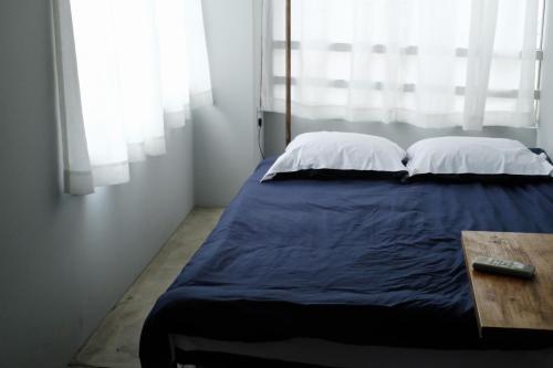 Maison Yohakuにあるベッド