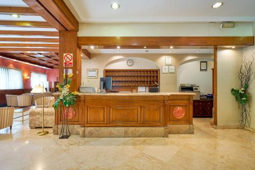 The lobby or reception area at Guadalupe