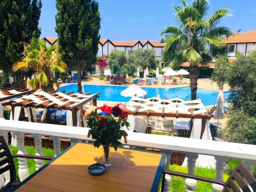 A view of the pool at Ship Inn Boutique Hotel & SPA & Restaurant near the beach or nearby