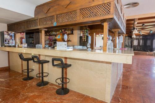 The lounge or bar area at Villa De Adeje Beach