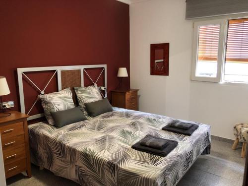 Llit o llits en una habitació de 150 Playa