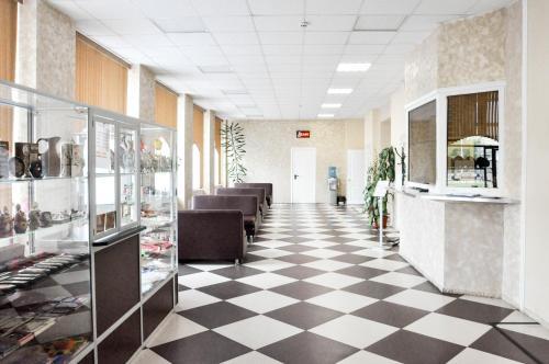 Лобби или стойка регистрации в Отель Иваново
