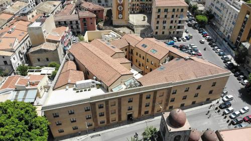 Vista aerea di Camplus Guest Palermo