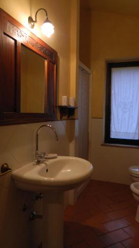 A bathroom at Le Rogheta