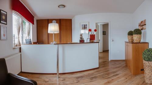 Lobby/Rezeption in der Unterkunft Aviva Apartment Hotel