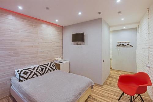 Кровать или кровати в номере Park Avenue Hotel