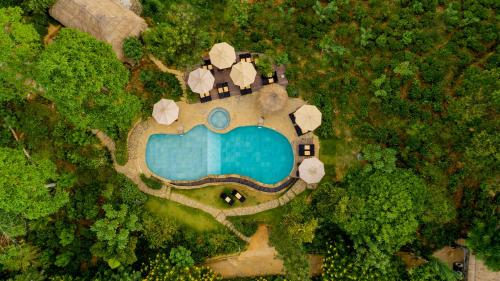 A bird's-eye view of 98 Acres Resort & Spa