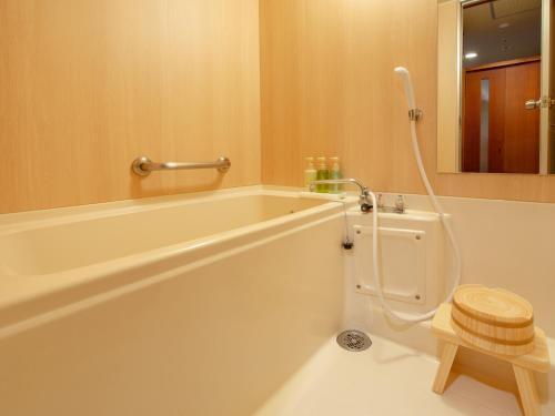A bathroom at Jyoseikan