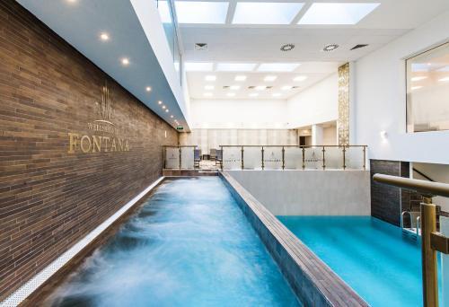 The swimming pool at or near Hotel Fontana Vrnjačka Banja