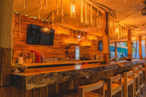 Salon ou bar de l'établissement Nomads Hotel & Beachclub