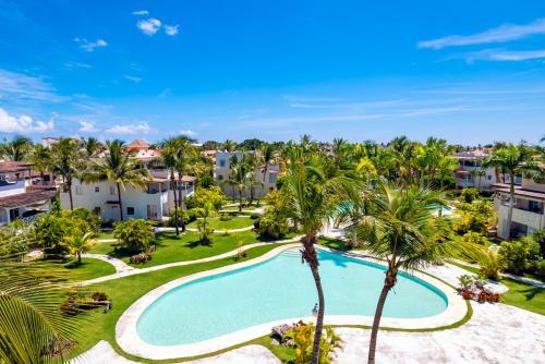 A view of the pool at Casa Caribe Appartamento Attico or nearby