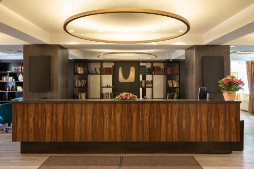 The lobby or reception area at Kreutzwald Hotel Tallinn