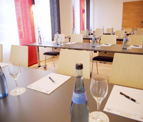 The business area and/or conference room at Kohlers Hotel Engel