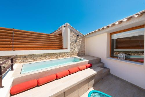 The swimming pool at or near Hotel Can Simo