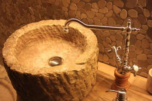 Ein Badezimmer in der Unterkunft Steirisch Ursprung