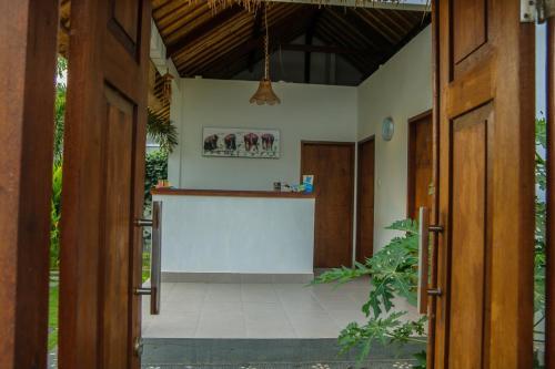 منطقة الاستقبال أو اللوبي في Cozy Cottages Lombok