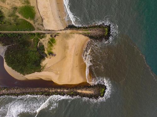 A bird's-eye view of Heritage Marari