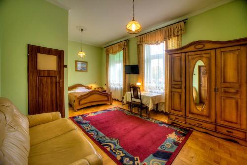 Część wypoczynkowa w obiekcie Hotel Jagielloński
