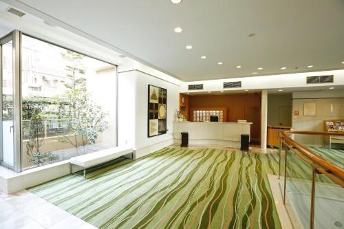 The lobby or reception area at Tokyo Green Hotel Korakuen