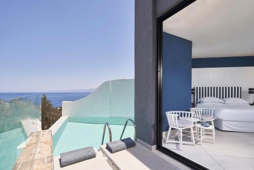 A balcony or terrace at Elounda Gulf Villas