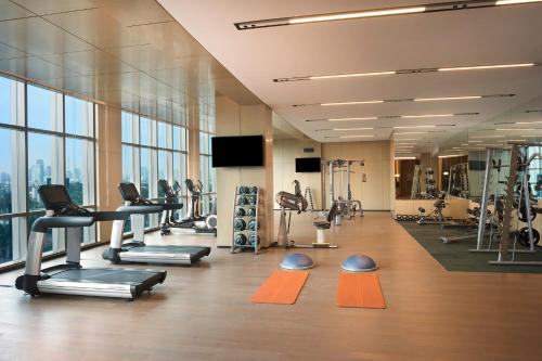 The fitness centre and/or fitness facilities at InterContinental Hotels Jakarta Pondok Indah, an IHG Hotel