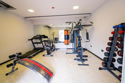 The fitness center and/or fitness facilities at The Edge by Wellness