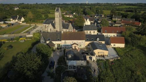 A bird's-eye view of Ferme de l'Eglise