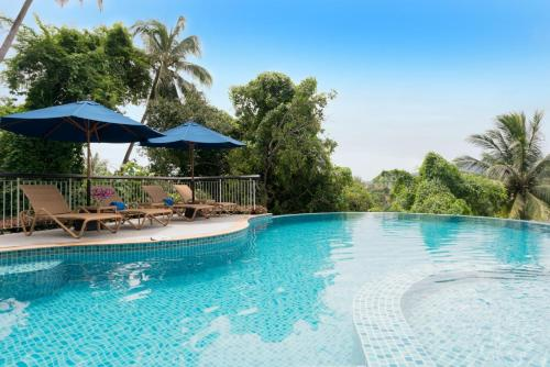 The swimming pool at or near The Park Surin Serviced Apartments