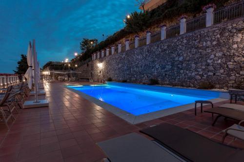 The swimming pool at or near Villa Piedimonte