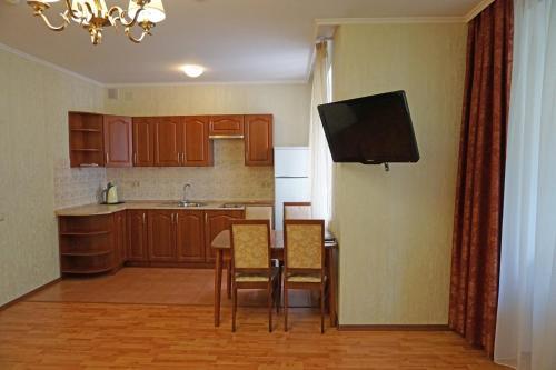 Кухня или мини-кухня в Апарт-Отель Нагорное