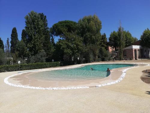 The swimming pool at or near Hotel Villa Maya