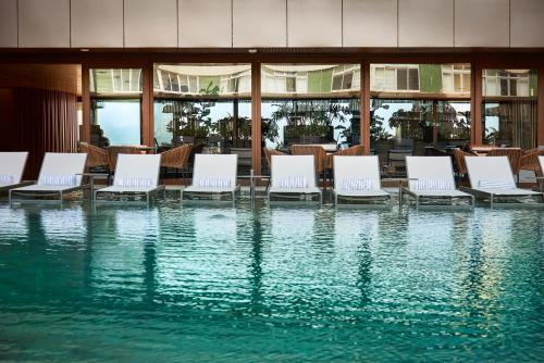 The swimming pool at or near Fairmont Rio de Janeiro Copacabana