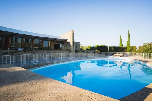 The swimming pool at or near Les Cabanettes