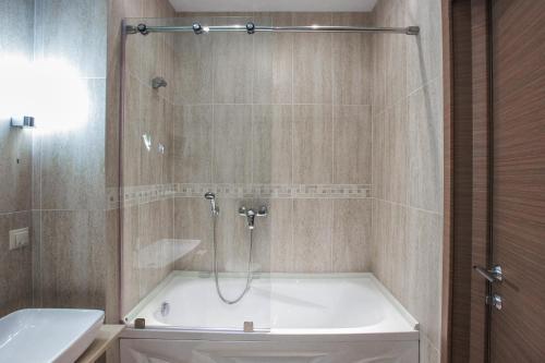 Ванная комната в Сити Отель