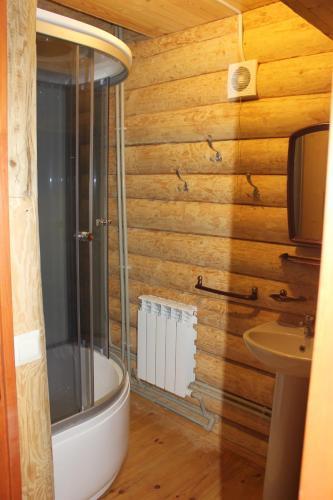 Ванная комната в Избушка на опушке