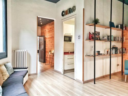 Cucina o angolo cottura di Rodamon Barcelona Hostel
