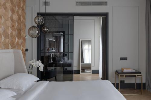 Ein Bett oder Betten in einem Zimmer der Unterkunft Riviera House