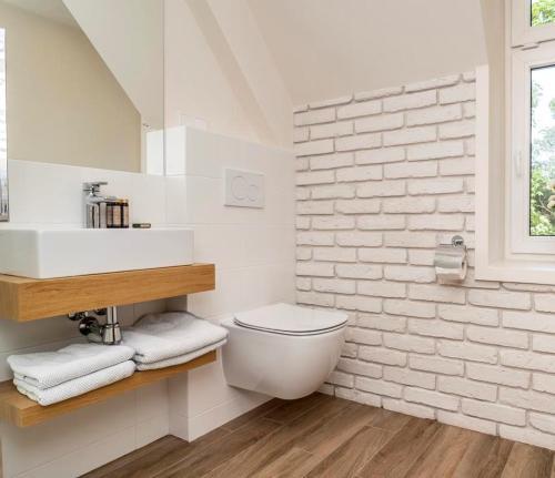 Łazienka w obiekcie Willa Legenda Hotel & Mini Spa - Adults Only