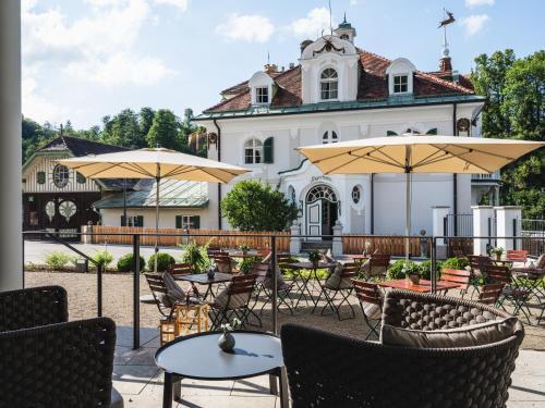 Restaurant ou autre lieu de restauration dans l'établissement AMERON Neuschwanstein Alpsee Resort & Spa