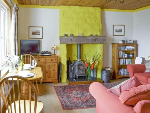 A seating area at Cuillin View